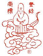 赤玉神教丸の登録商標「寿老人」延命長寿の神様