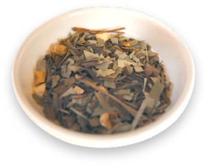 七爽茶の葉